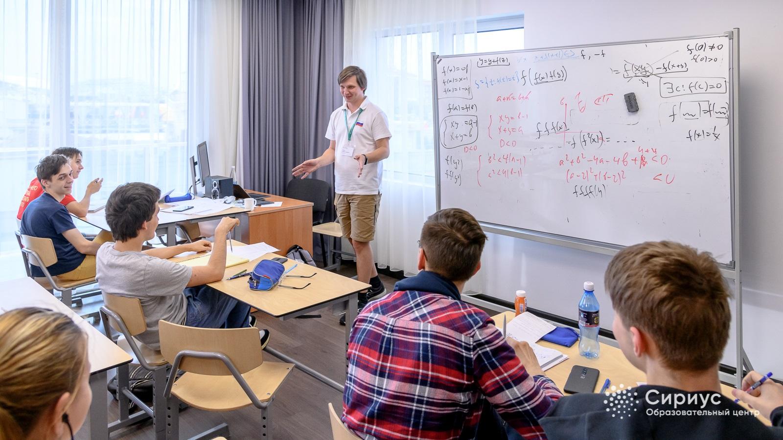 Кандидаты в сборную России по математике готовятся к международной олимпиаде