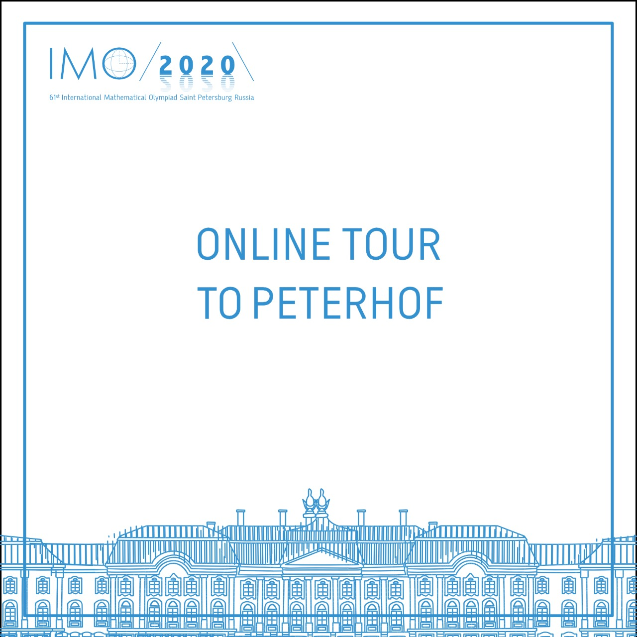 Online excursion «Walking around Peterhof with the Russian national team» in Russian and English languages at 09:00 (UTC)