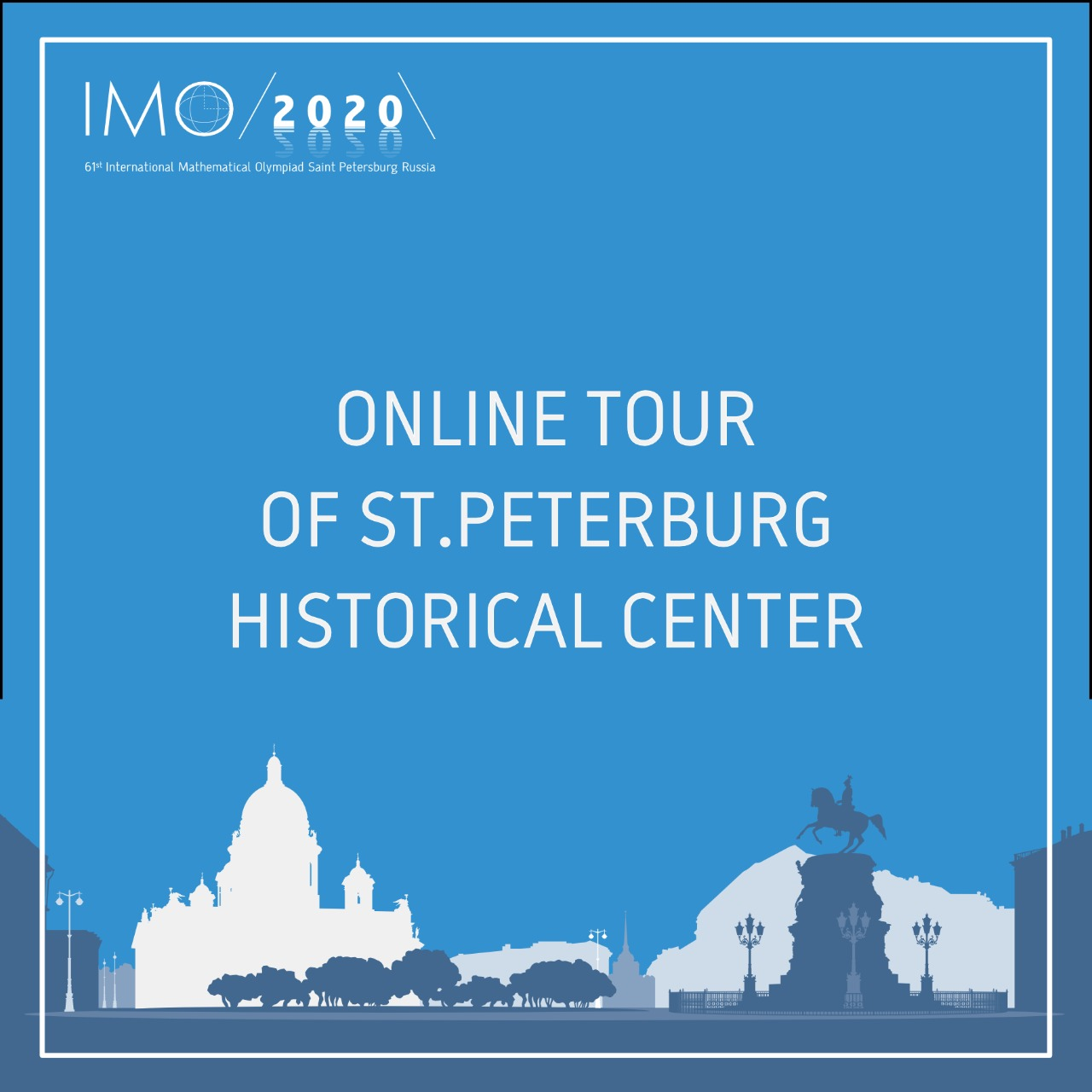 "Online excursion ""A walk in the centre of St. Petersburg"" in German language at 12:00 (UTC). Join the walk and ask your questions online!"