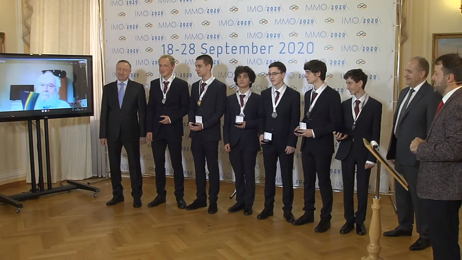 The 62nd International Mathematical Olympiad 2021 will be held in Saint Petersburg